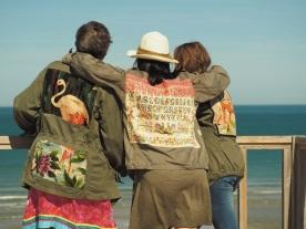 Weekend du 15 aut à Soulac sur mer , des cousines mannequins, un soleil magnifique et des photos ...